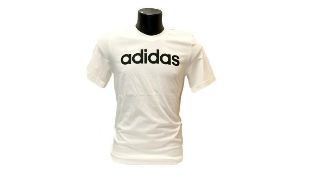 adidas adidas t-shirt uomo dq3056 bianco