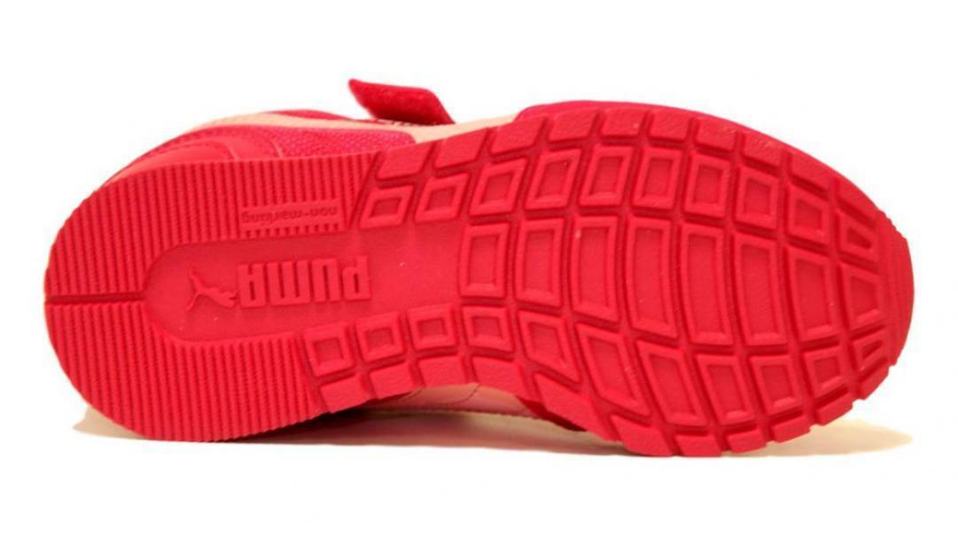 puma puma st runner v2 mesh v ps  367136 008 sneaker bambina rosa