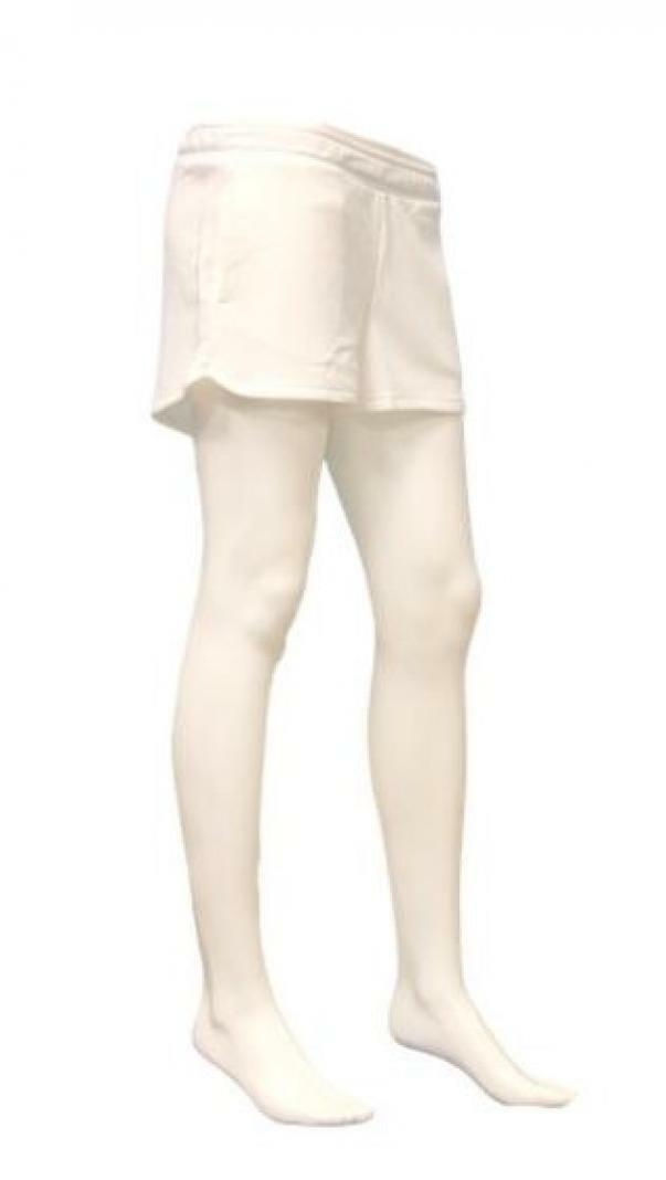puma puma short donna 582385 002 bianco