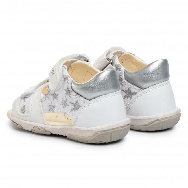 Geox sandalo bambina b0238a 01002 c0007 bianco