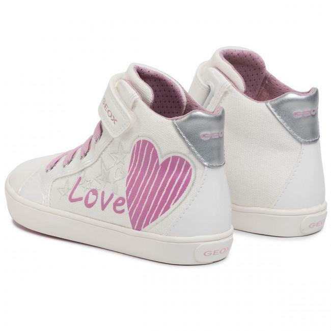 geox geox sneakers junior j024nc 01002 c0406 bianco