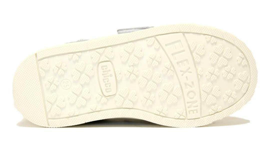 chicco chicco sneakers bambino 63612 argento