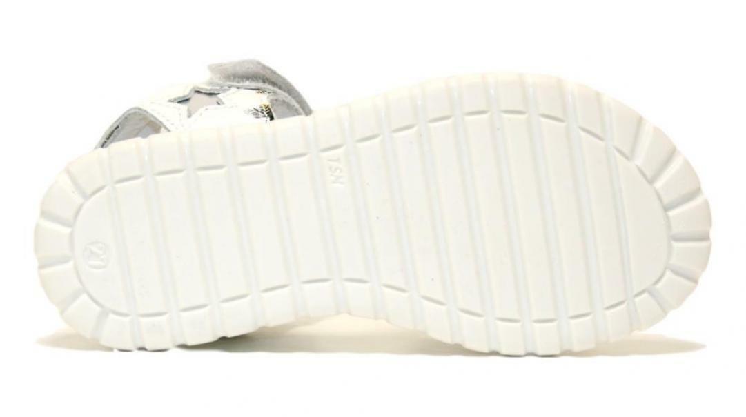 melania melania sandalo bambina me4093d0s.a bianco