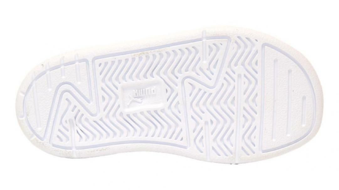 puma puma caracal glitter v inf 373076 002 bianco