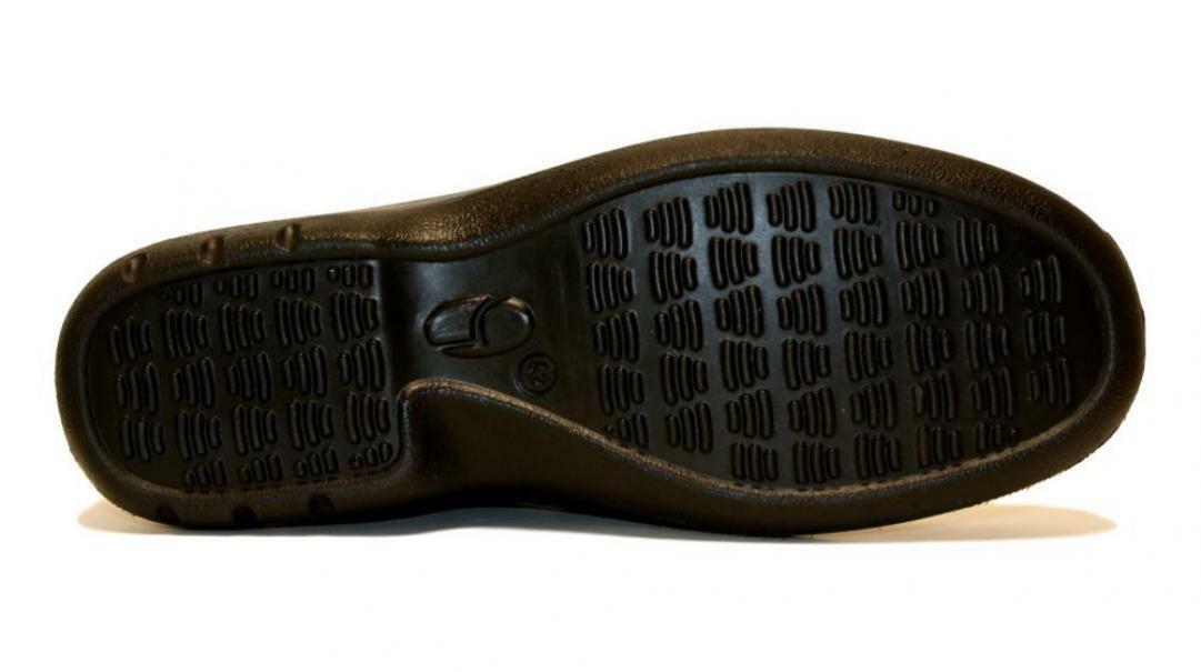 grisport grisport mocassino allacciato nero oliato uomo 2938ov.94 nero