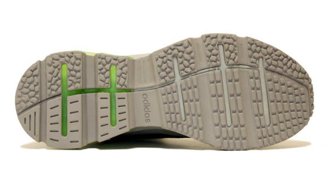 adidas adidas quadcube uomo eg4393  grigio scarpa da corsa uomo