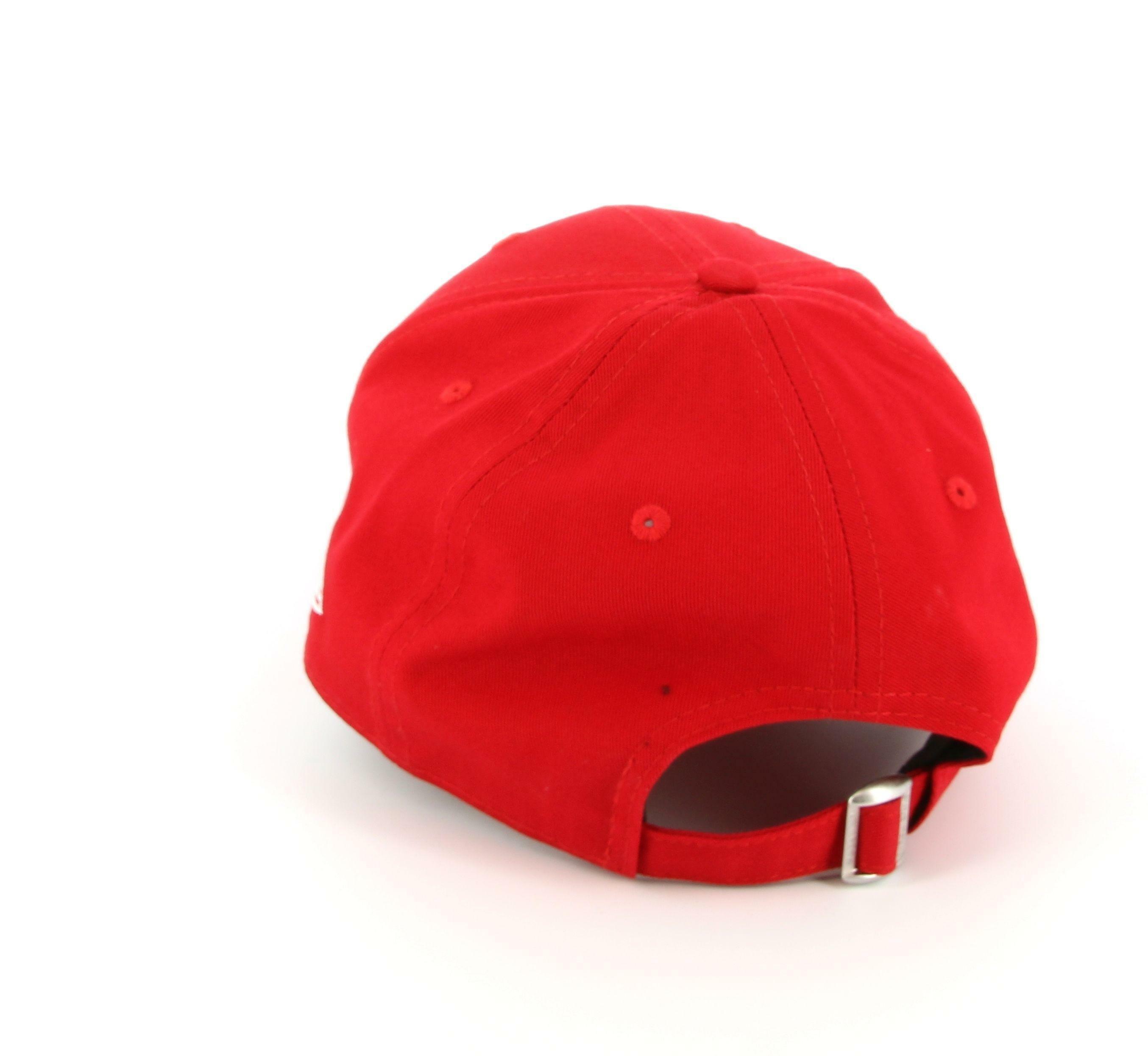 new era new era 10531938 cappello unisex scarlet/white