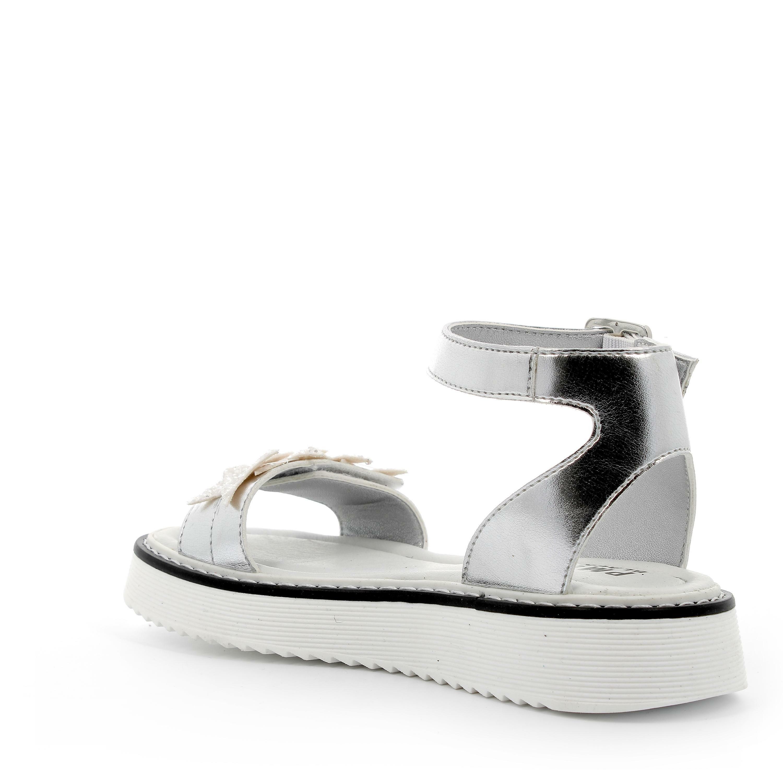 primigi primigi sandalo bambina 5436000 argento sandalo con cinturino
