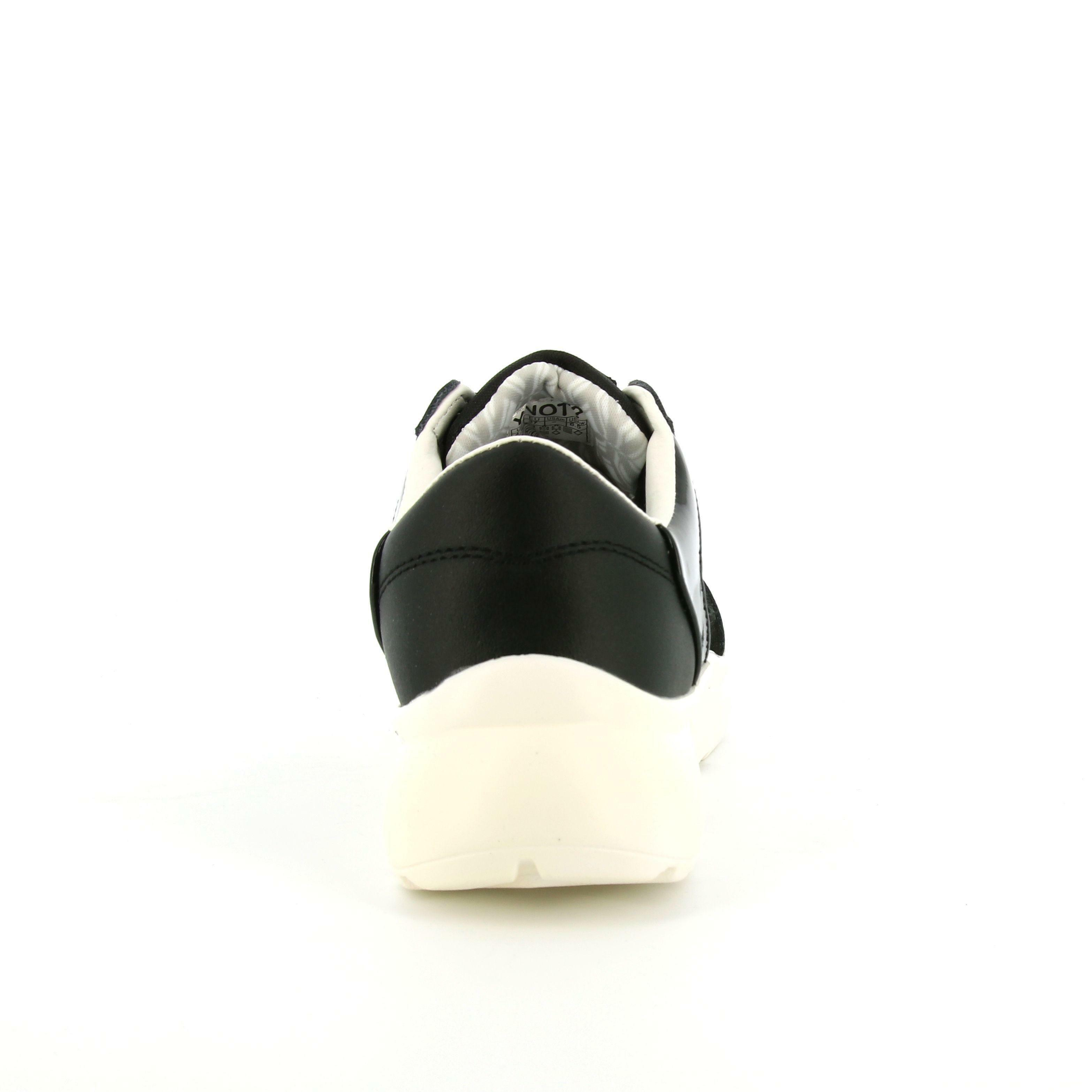 ynot? ynot? allacciato sportivo donna ynp0200 nero bianco