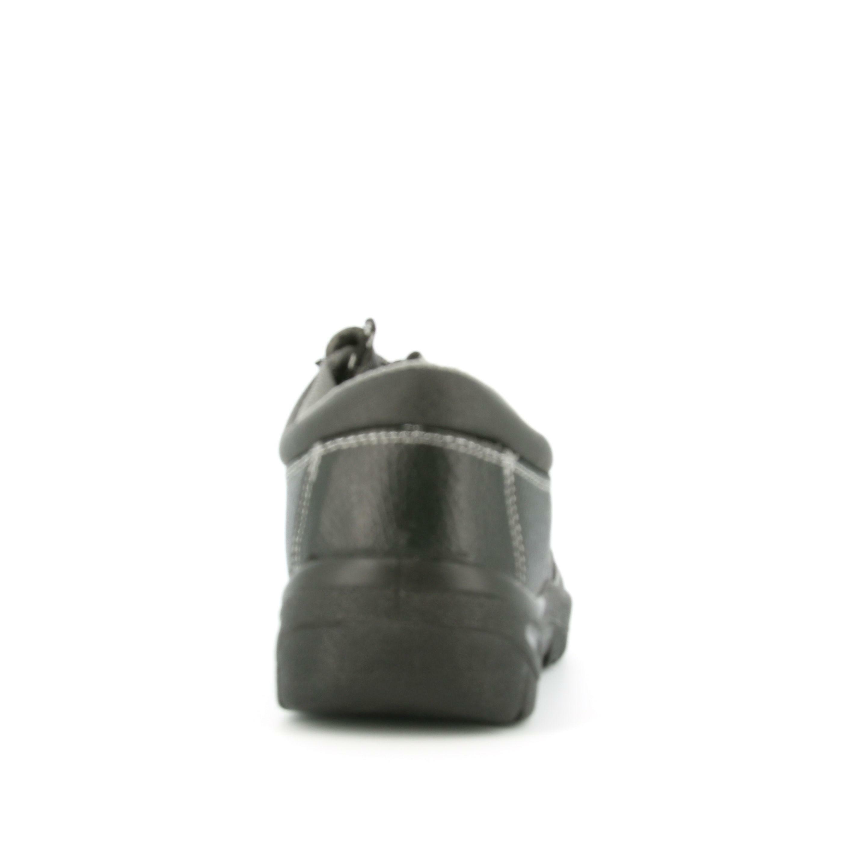 level 1 level 1 antinfortunio calz. bassa pelle 10202 s1p nero