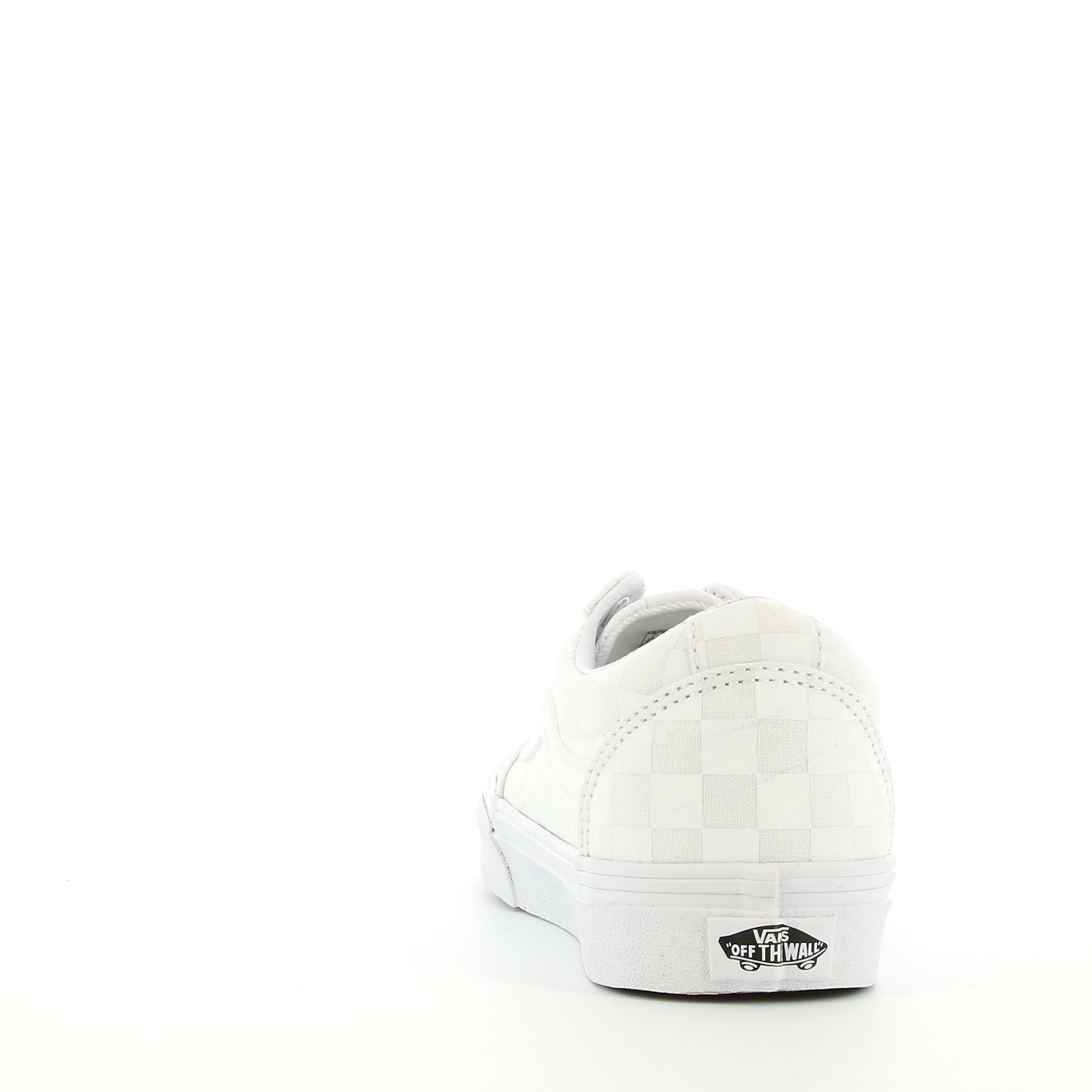 vans vans ward canvas donna vn0a3iunw511 bianca sneaker donna