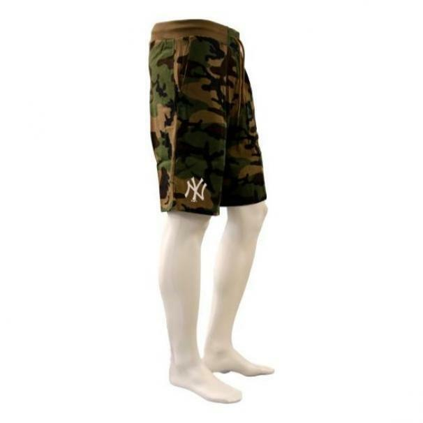 new era new era shorts uomo 12483685 multicolore