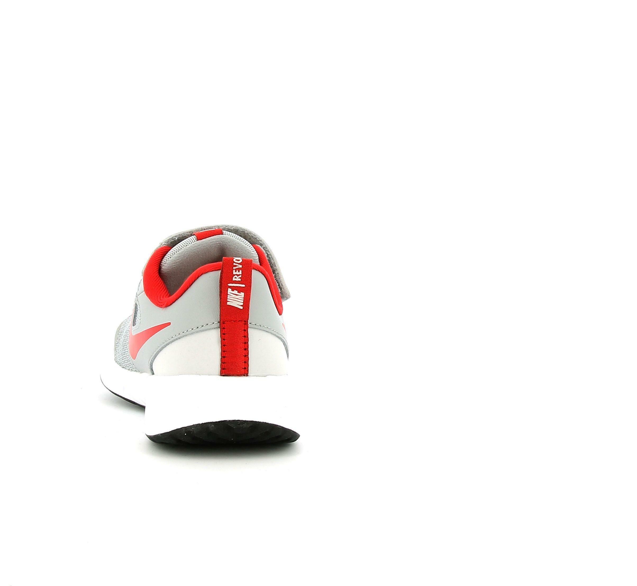 nike nike revolution 5 (psv) bq5672 013 grigio scarpa da corsa leggera