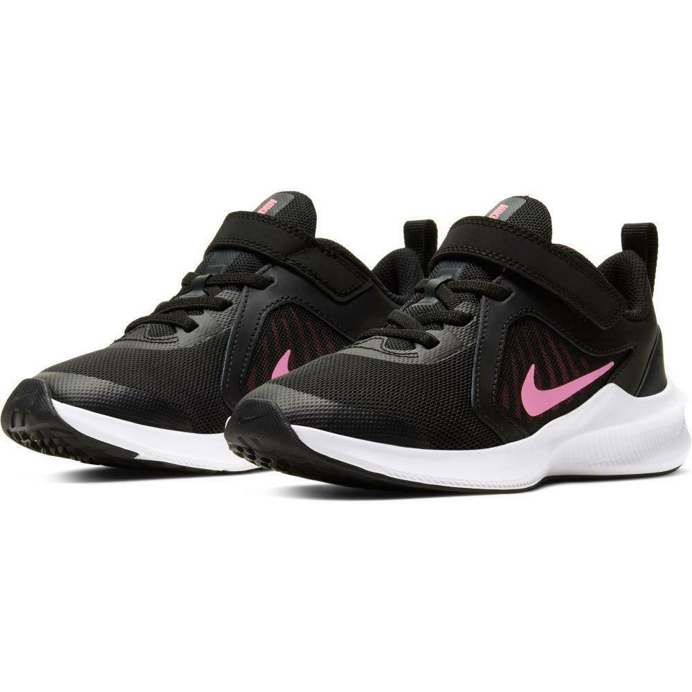 nike nike downshifter 10 (psv) cj2067 002 nero scarpa da ginnastica bambina