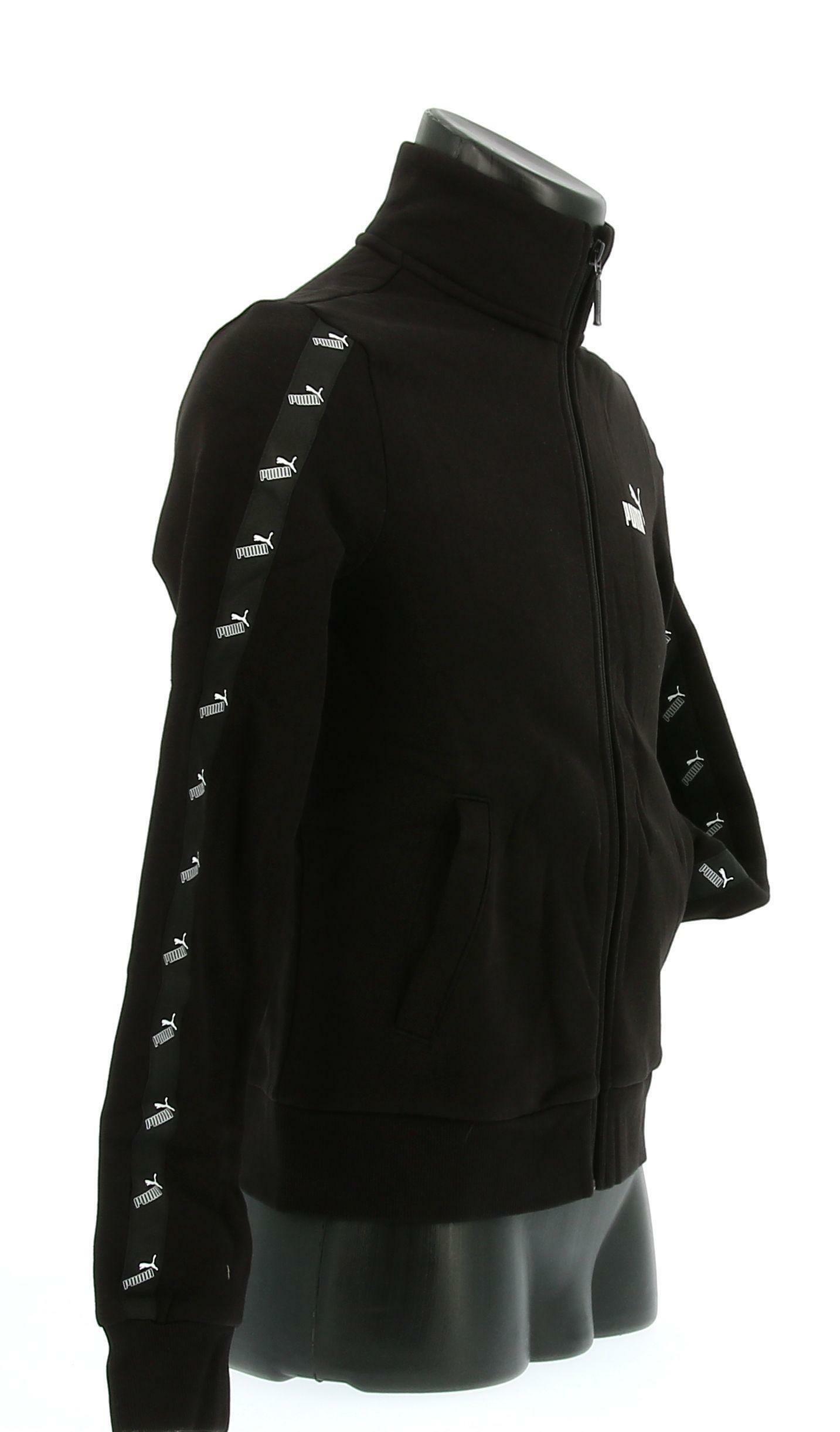 puma puma felpa 583622 001 nero hoodie donna