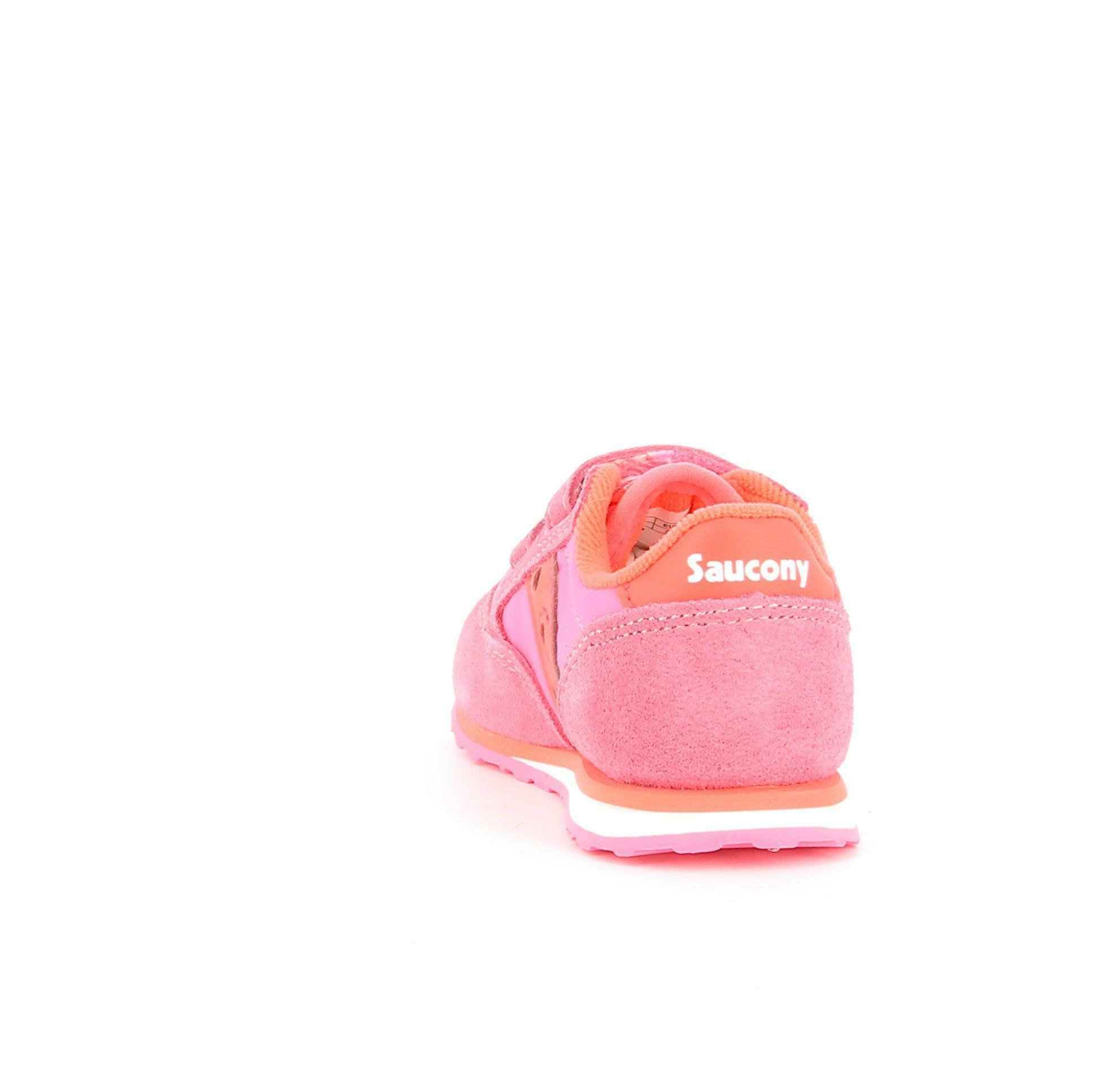 saucony saucony sneakers bassa bambina sl163383 rosa