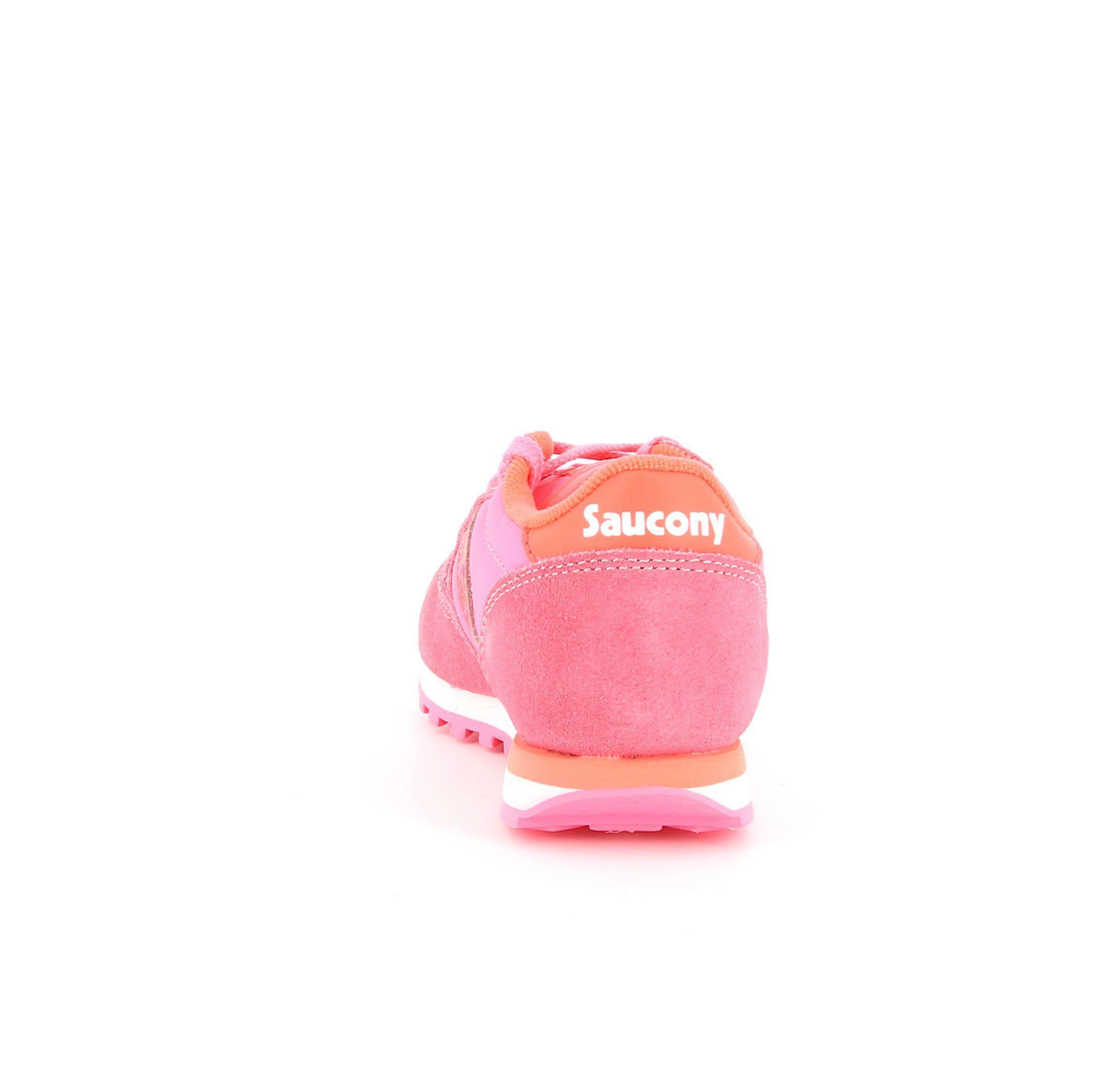 saucony saucony sneakers bassa bambina sk163330 rosa