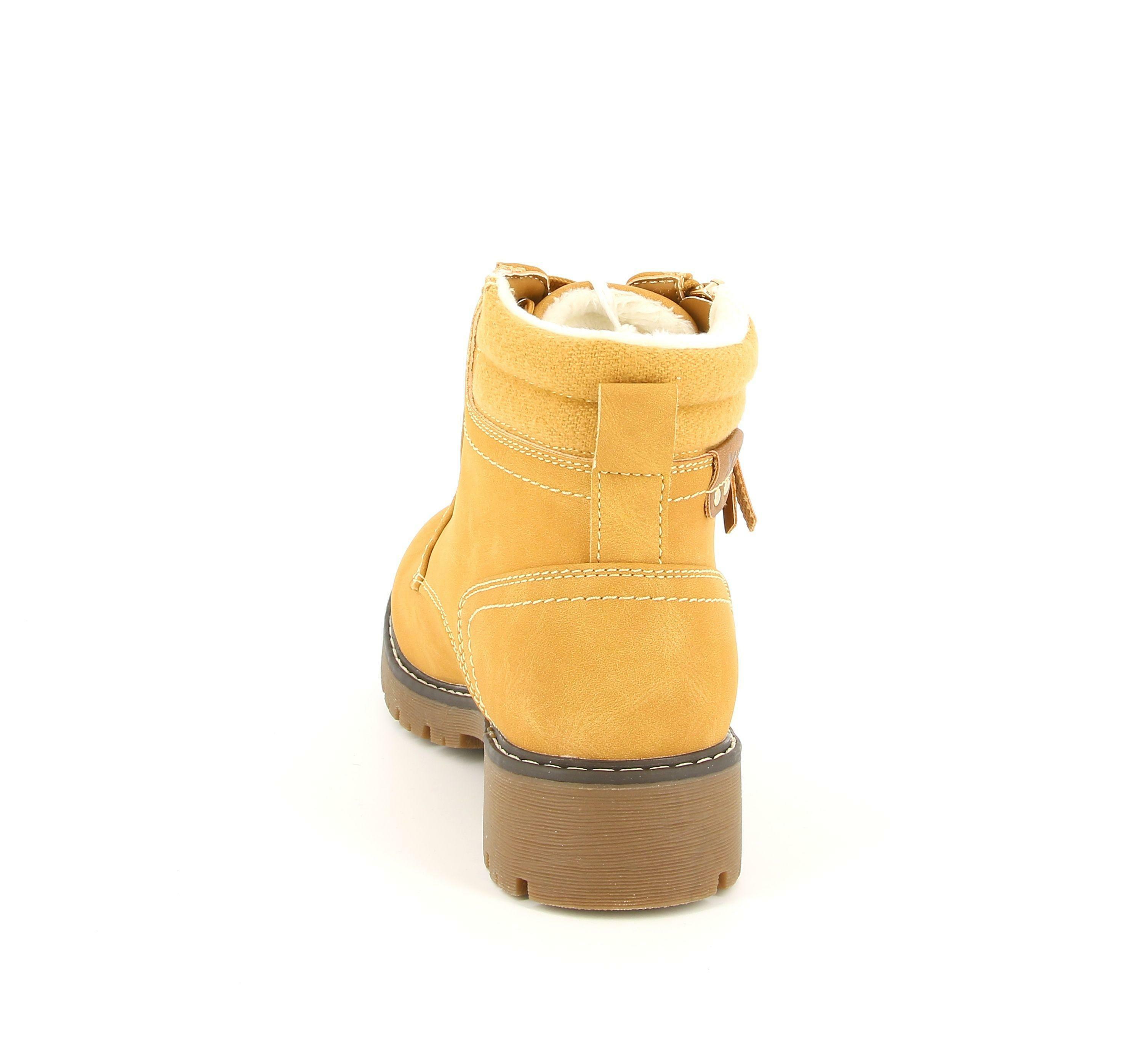 xti xti scarponcino 34429 giallo giallone donna