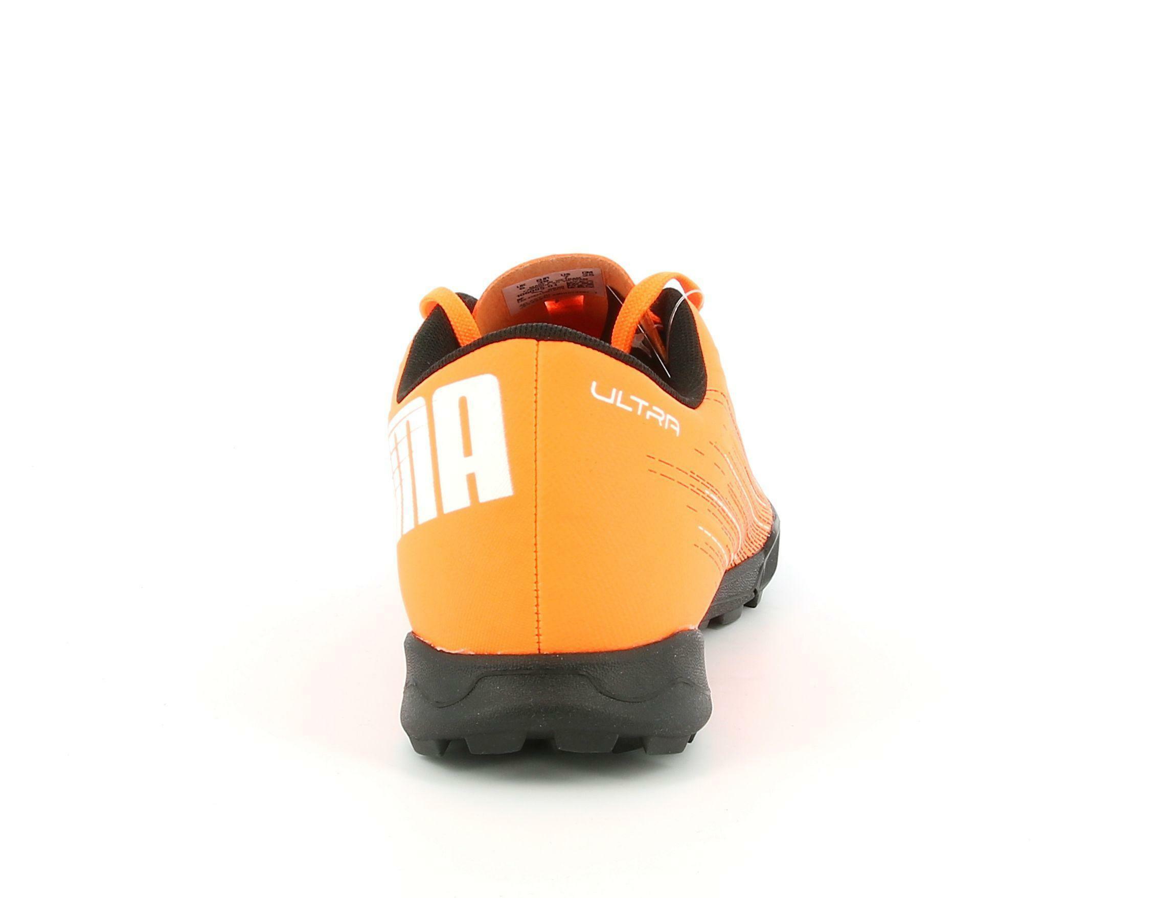 puma puma ultra 4.1 tt 106095 001 arancio scarpe da calcetto uomo