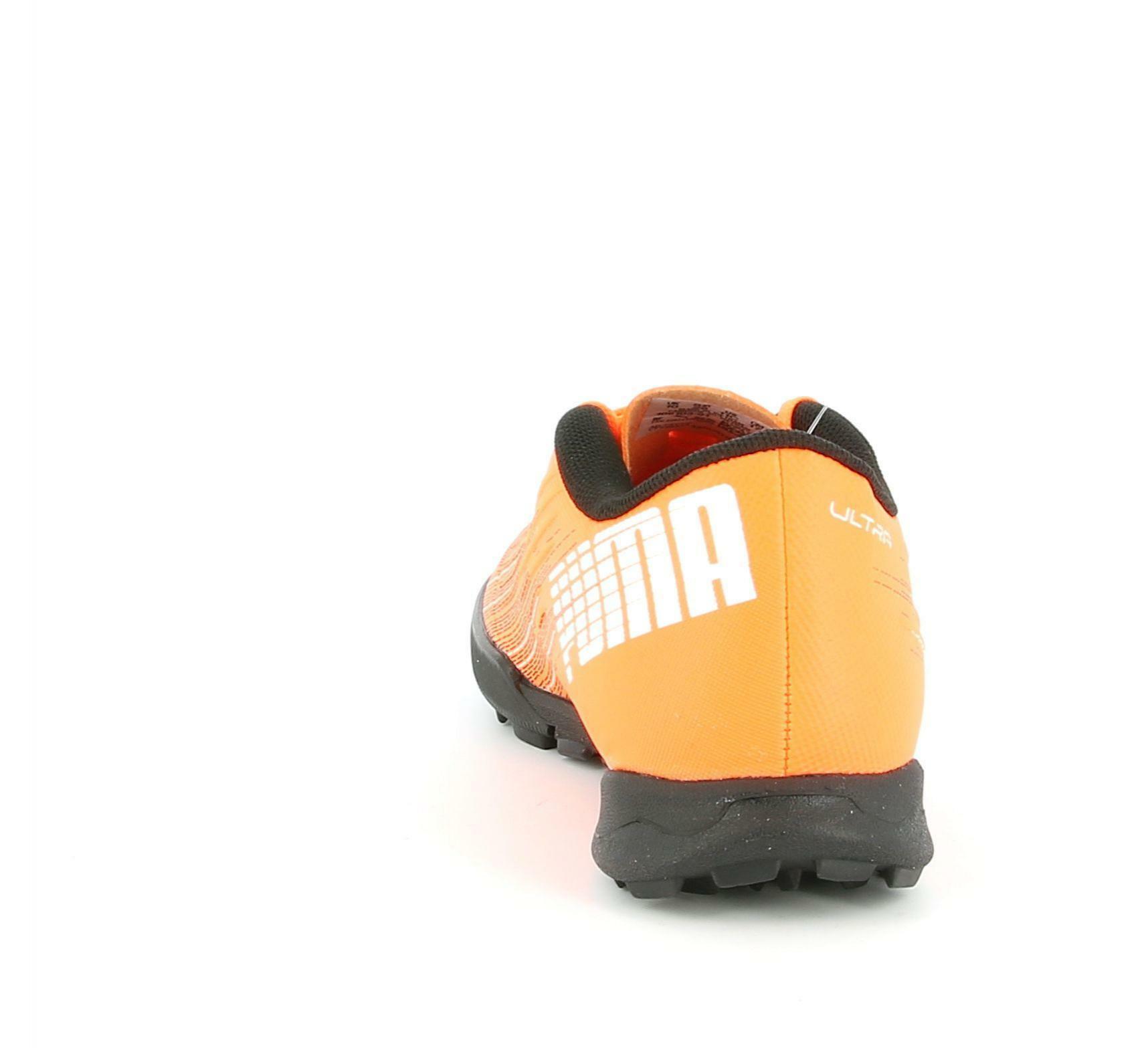 puma puma ultra 4. tt jr 106103 001 arancio scarpe calcetto bambino