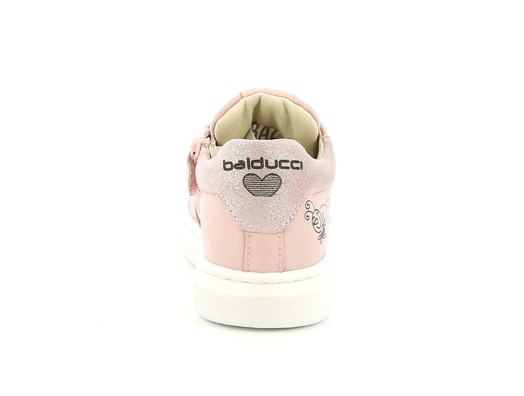 balducci balducci sneakers msport3410 rosa sneakers bassa bambina