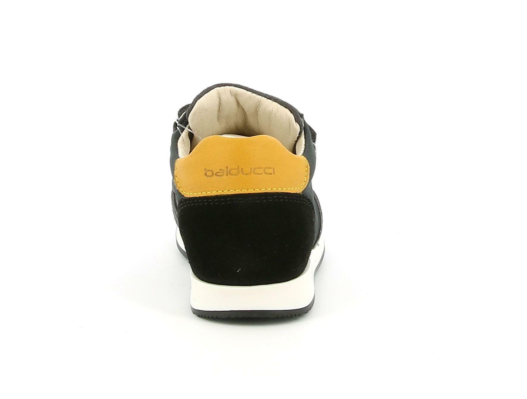 balducci balducci strappo sportivo csport4350 grigio/giallo scarpe sportive