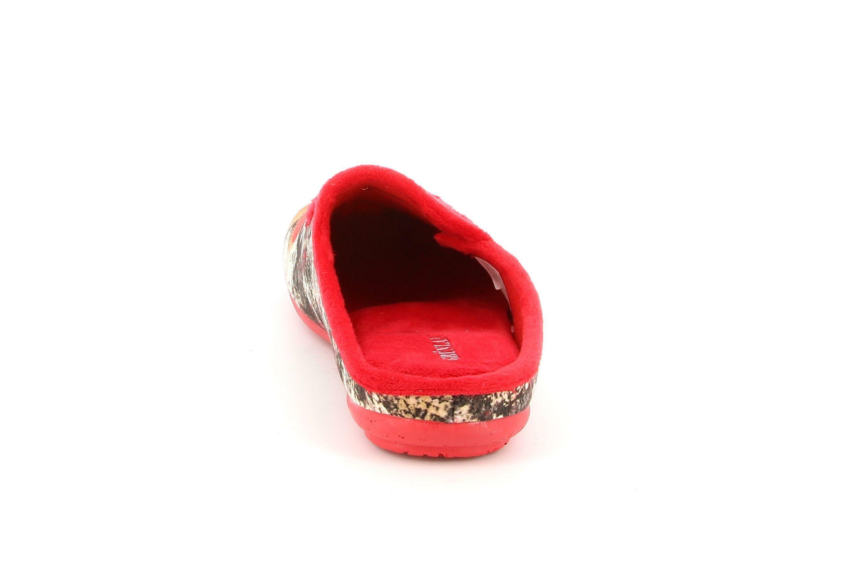 grunland grunland ciabatte ci2782 b5faye da donna rosso