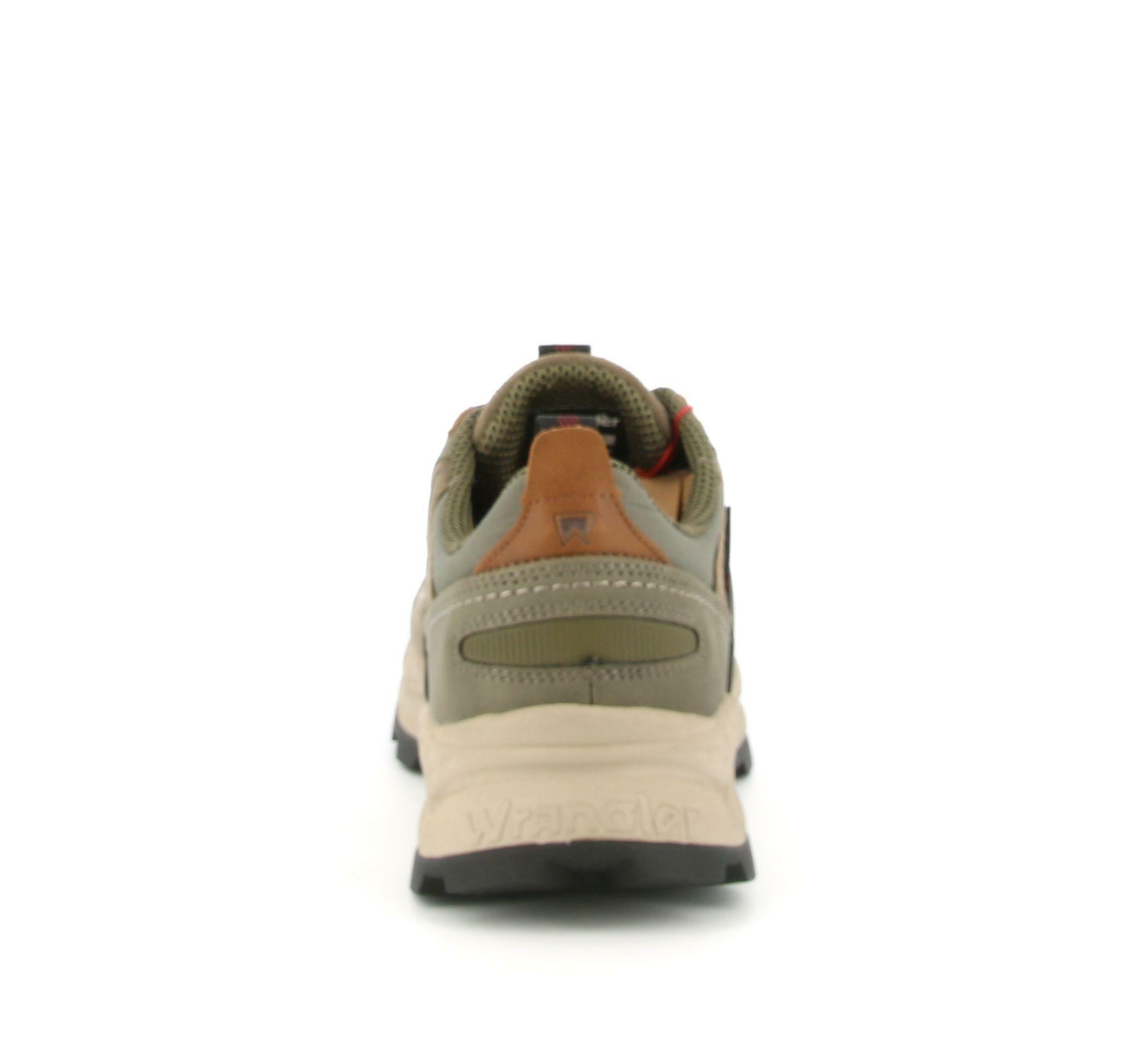 wrangler wrangler allacciato sportivo crossy city wm02151a verde scarpe da uomo