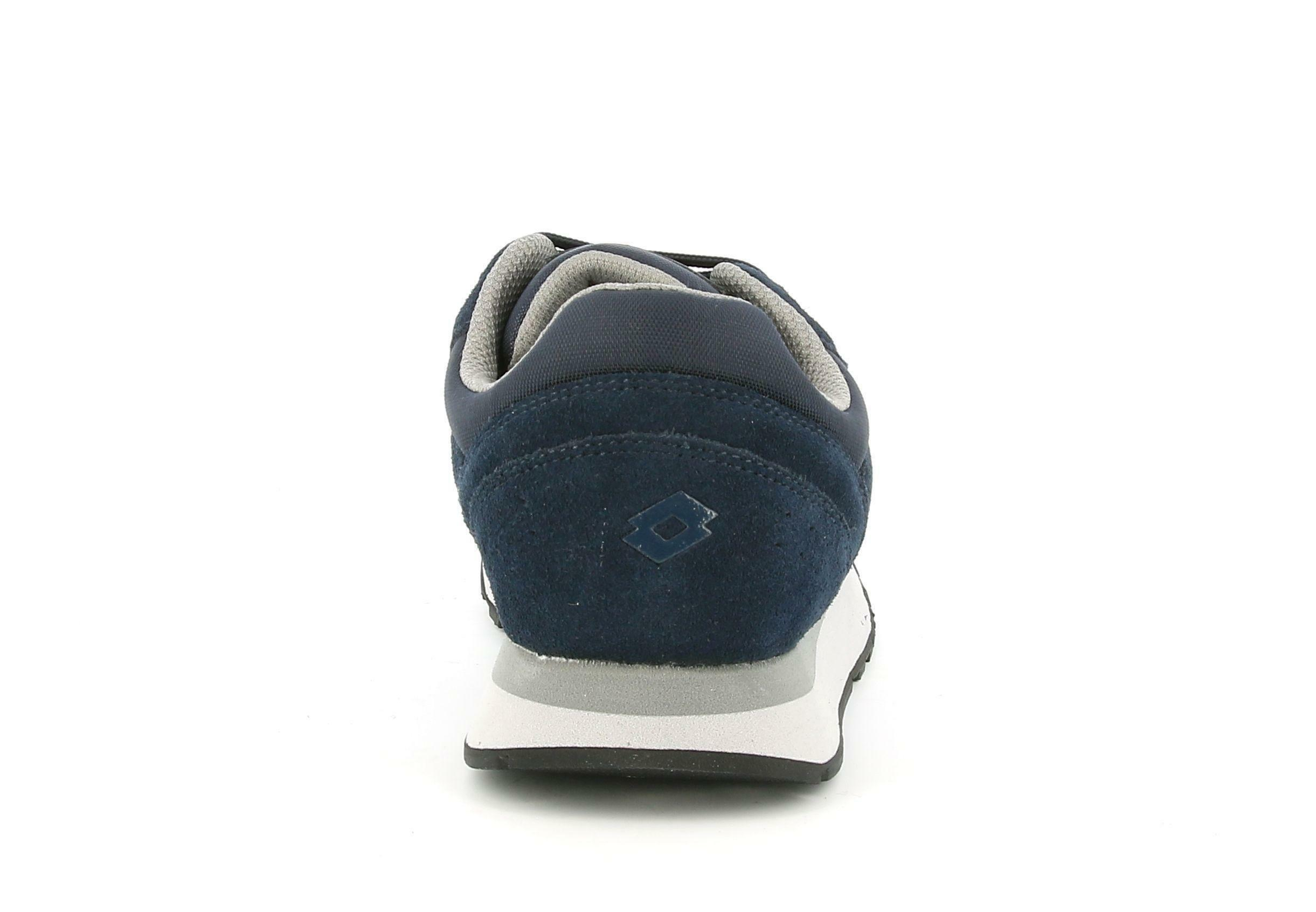 lotto lotto trainer xvi sue 214673 blu scarpa sportiva uomo