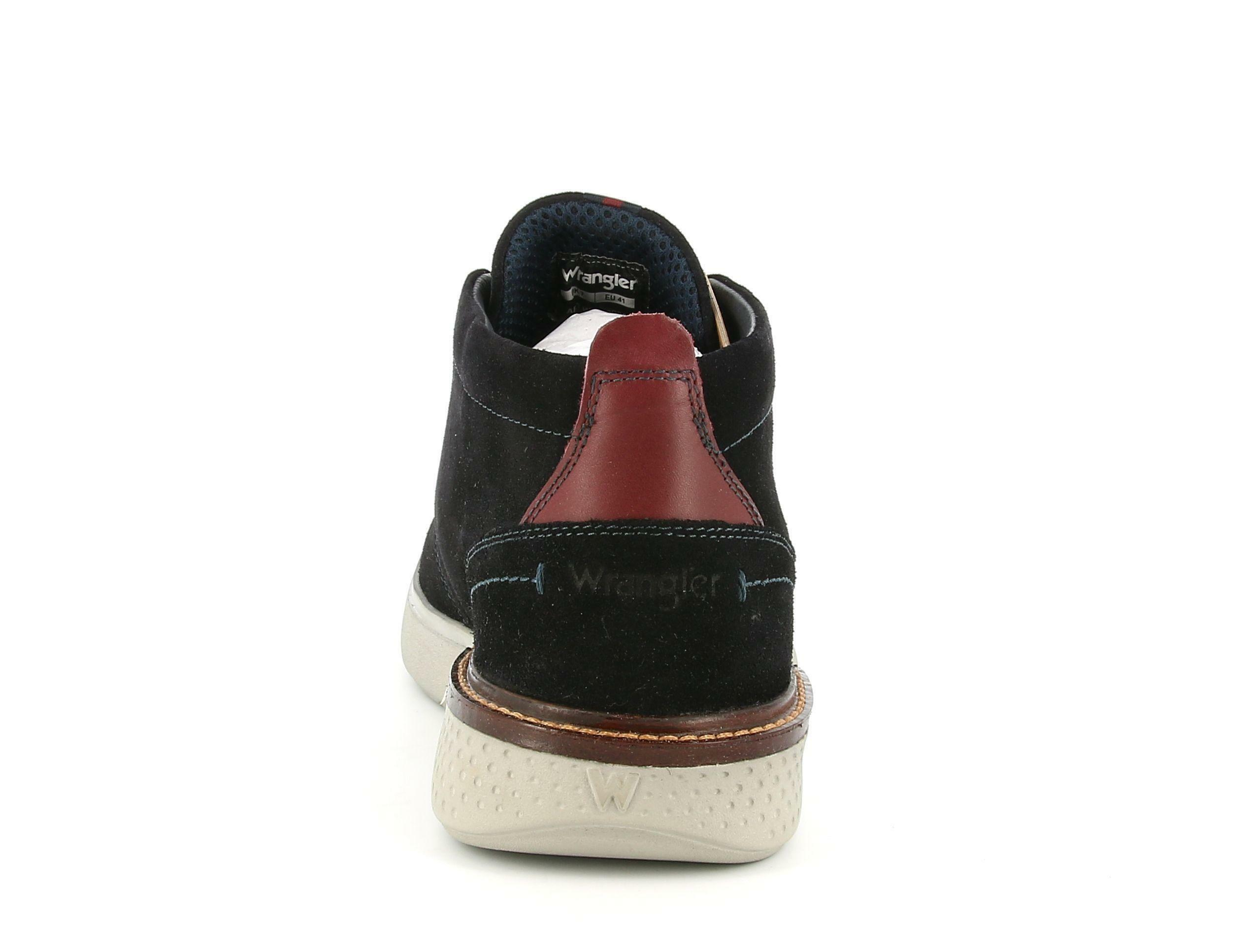 wrangler wrangler polacco wm02036a blu sneakers uomo