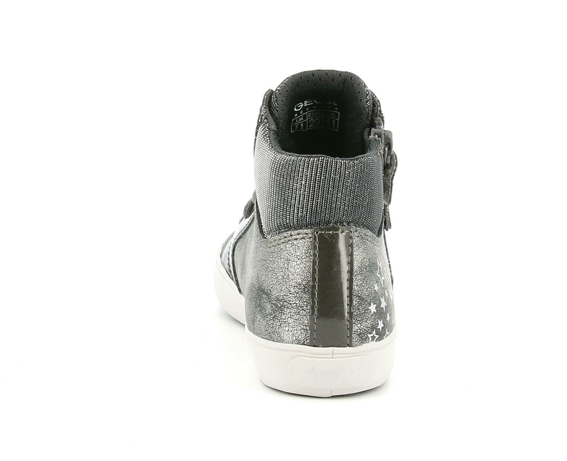 geox geox j gisli g. d j024nd 054pv c9002 grigio calzature sportive bambina