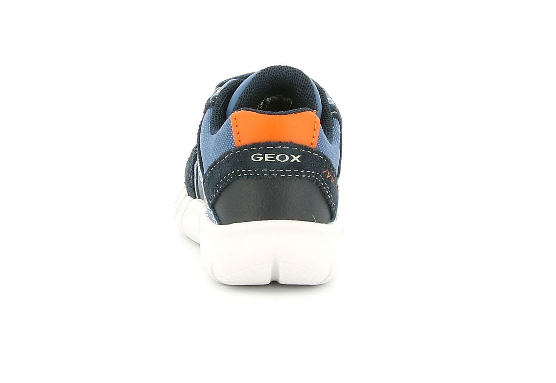 geox geox b flexyper b. c b042tc 0clme c4mf4 blu sneakers bimbo