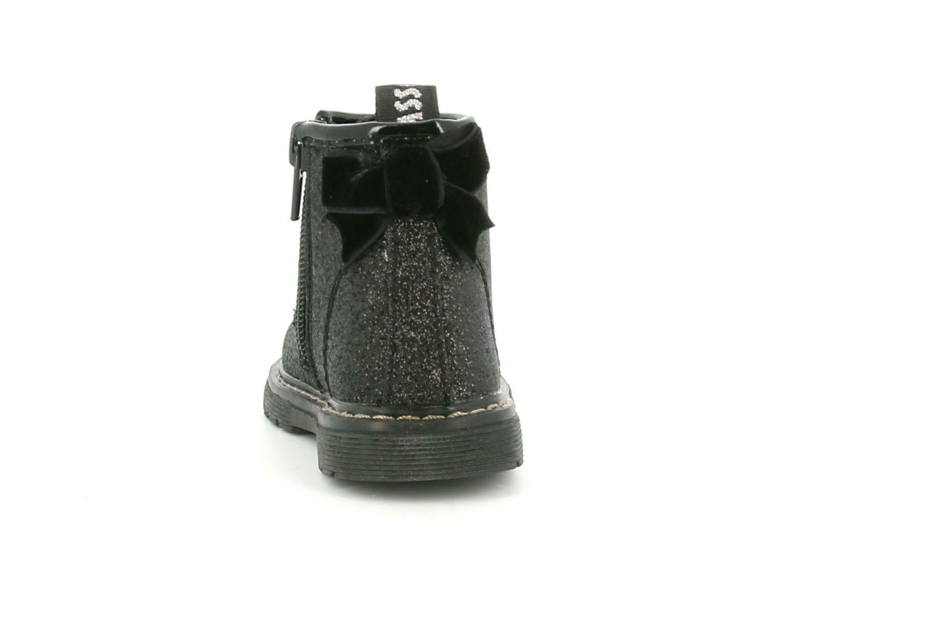 asso asso scarponcino da bambina ag-9966 nero