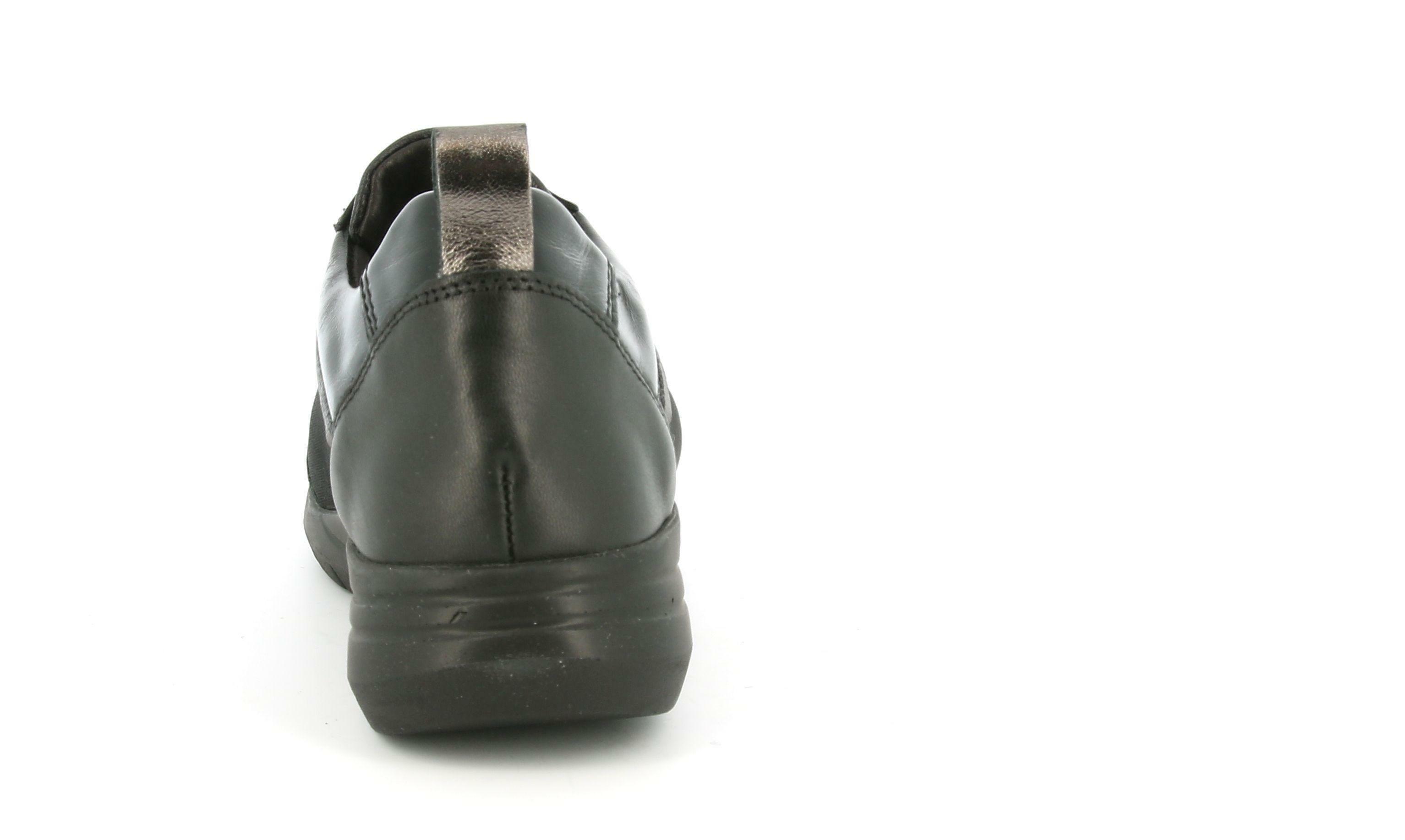 grunland grunland sc5018 call  scarpa donna allacciato sportivo nero/nero