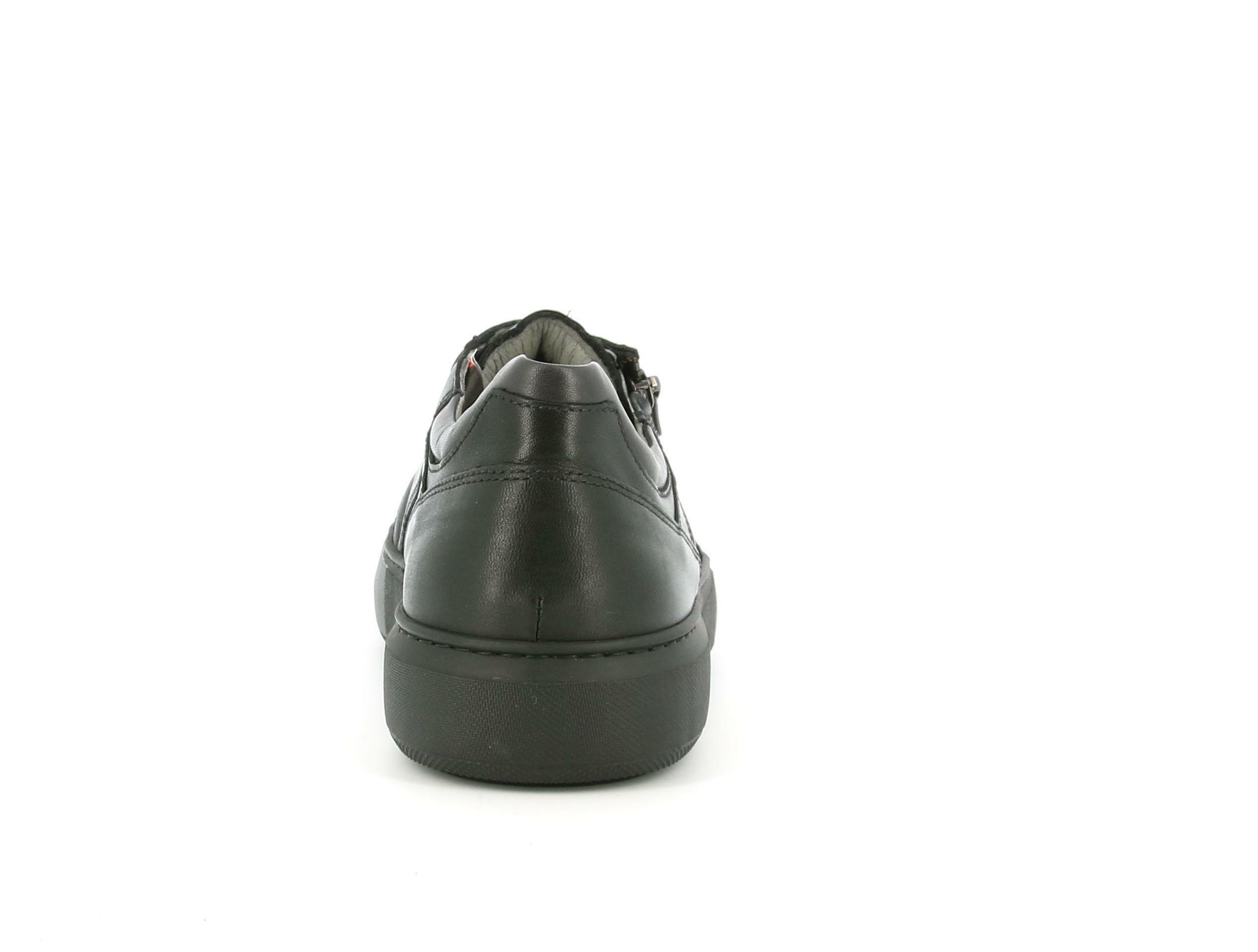 nero giardini nero giardini i001802u 100 nero sneakers bassa uomo