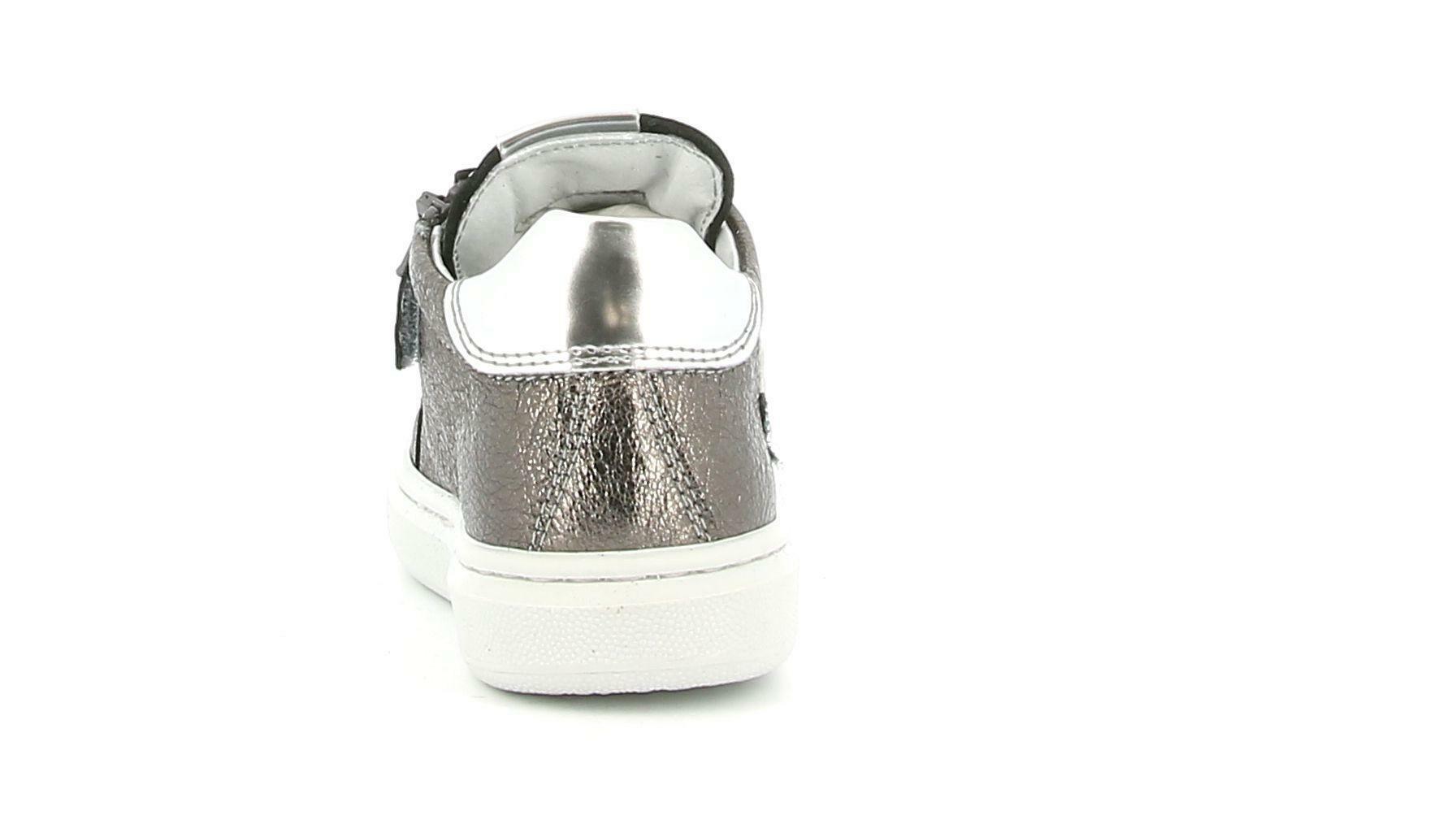 nero giardini nero giardini i021543f 510 grigio sneakers bassa bambina