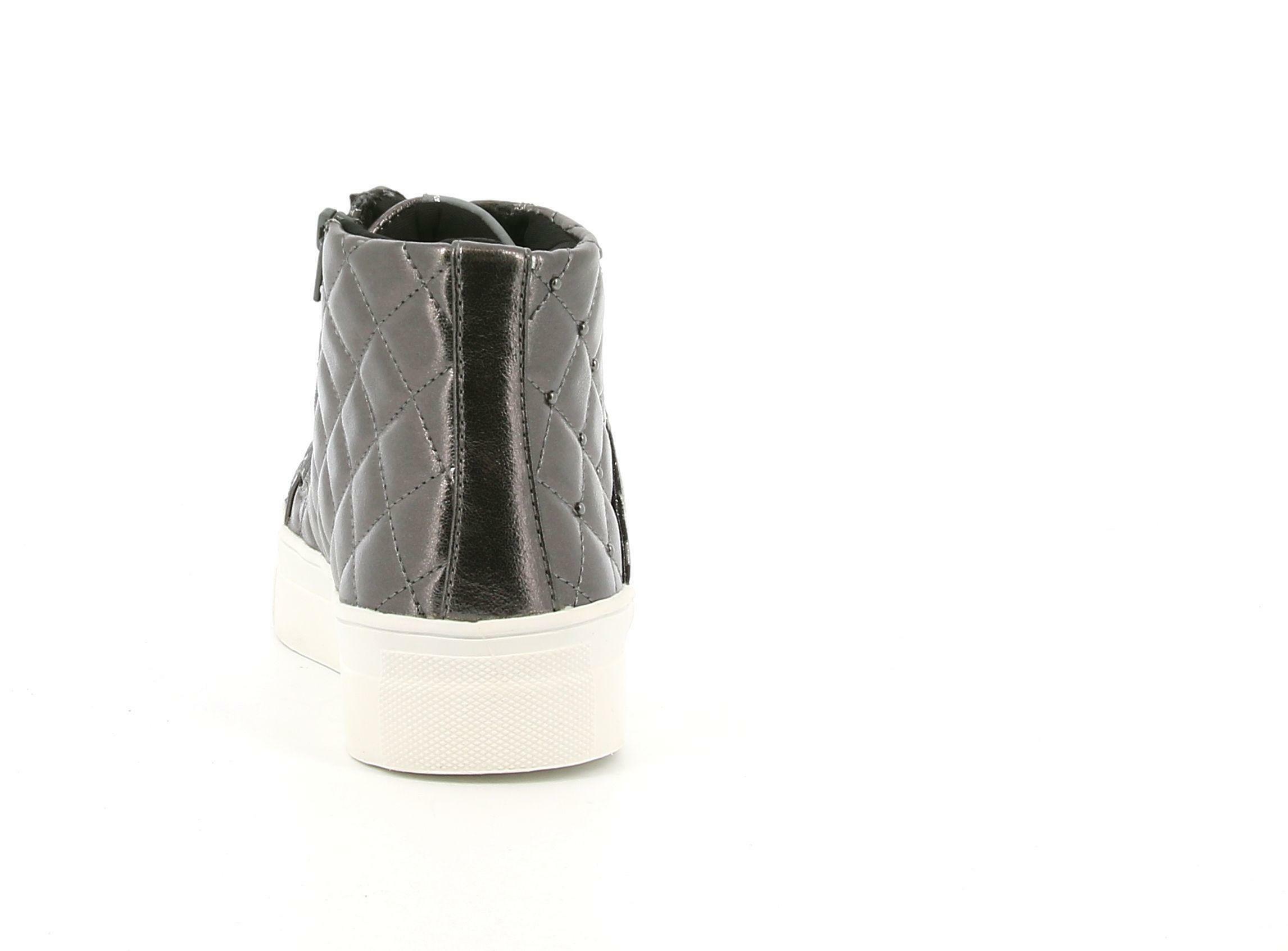 asso asso sneakers alta bimba ag-8603 grigio