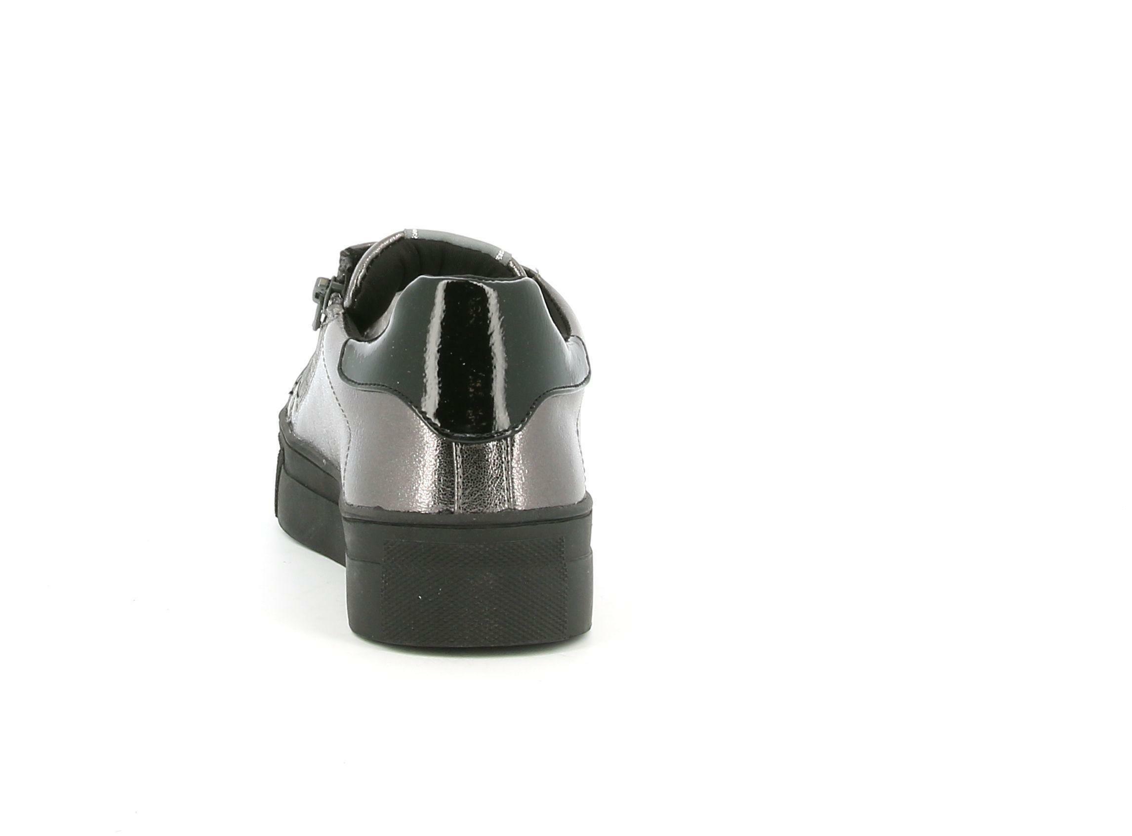 asso asso sneakers bassa da bambina ag-8601 grigio