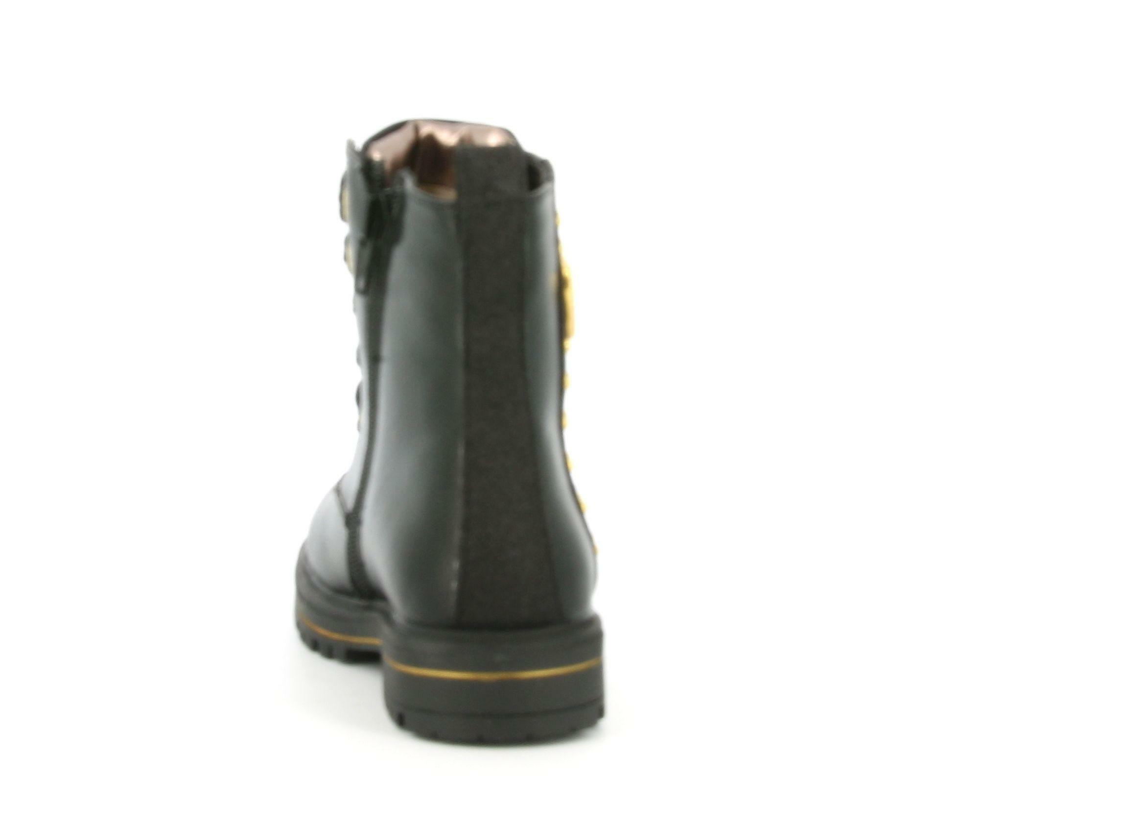 asso asso scarponcino bimba ag-9103 nero