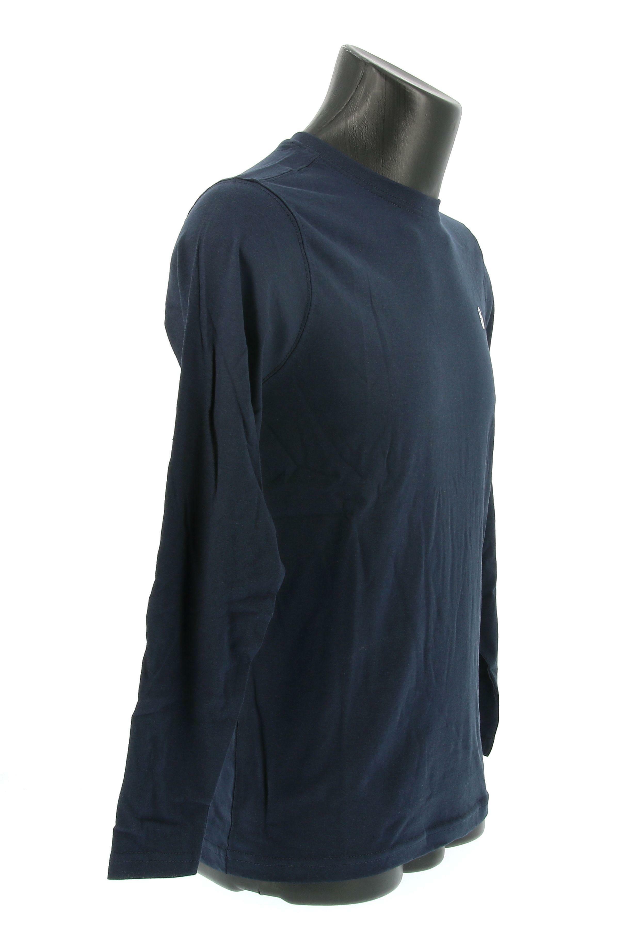 sergio tacchini sergio tacchini sl t-shirt iconic 10006 manica lunga uomo blue