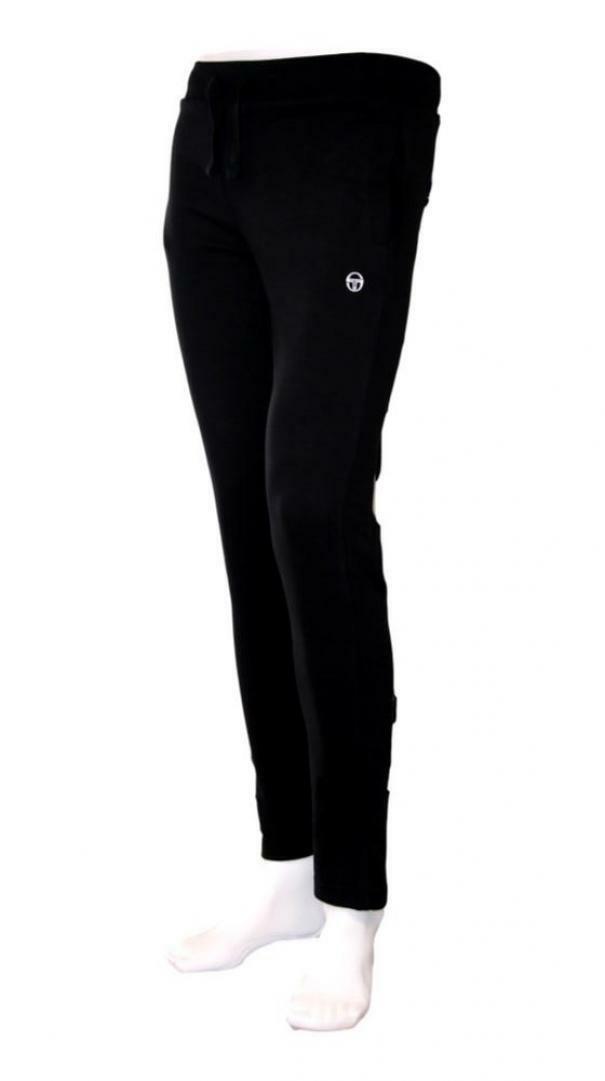 sergio tacchini sergio tacchini regular pants iconic 10011 pantaloni sportivi uomo nero