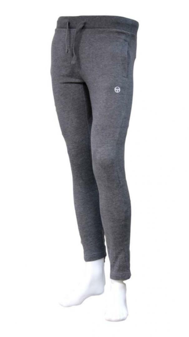 sergio tacchini sergio tacchini regular pants iconic 10011 pantaloni sportivi uomo grigio