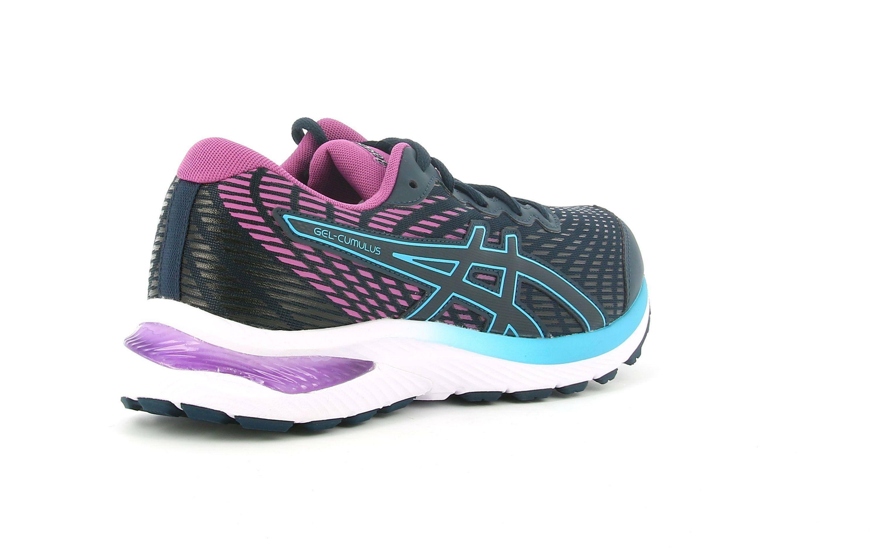 asics asics 1014a148-404 gel comulus 22 gs blue/grape scarpe da corsa
