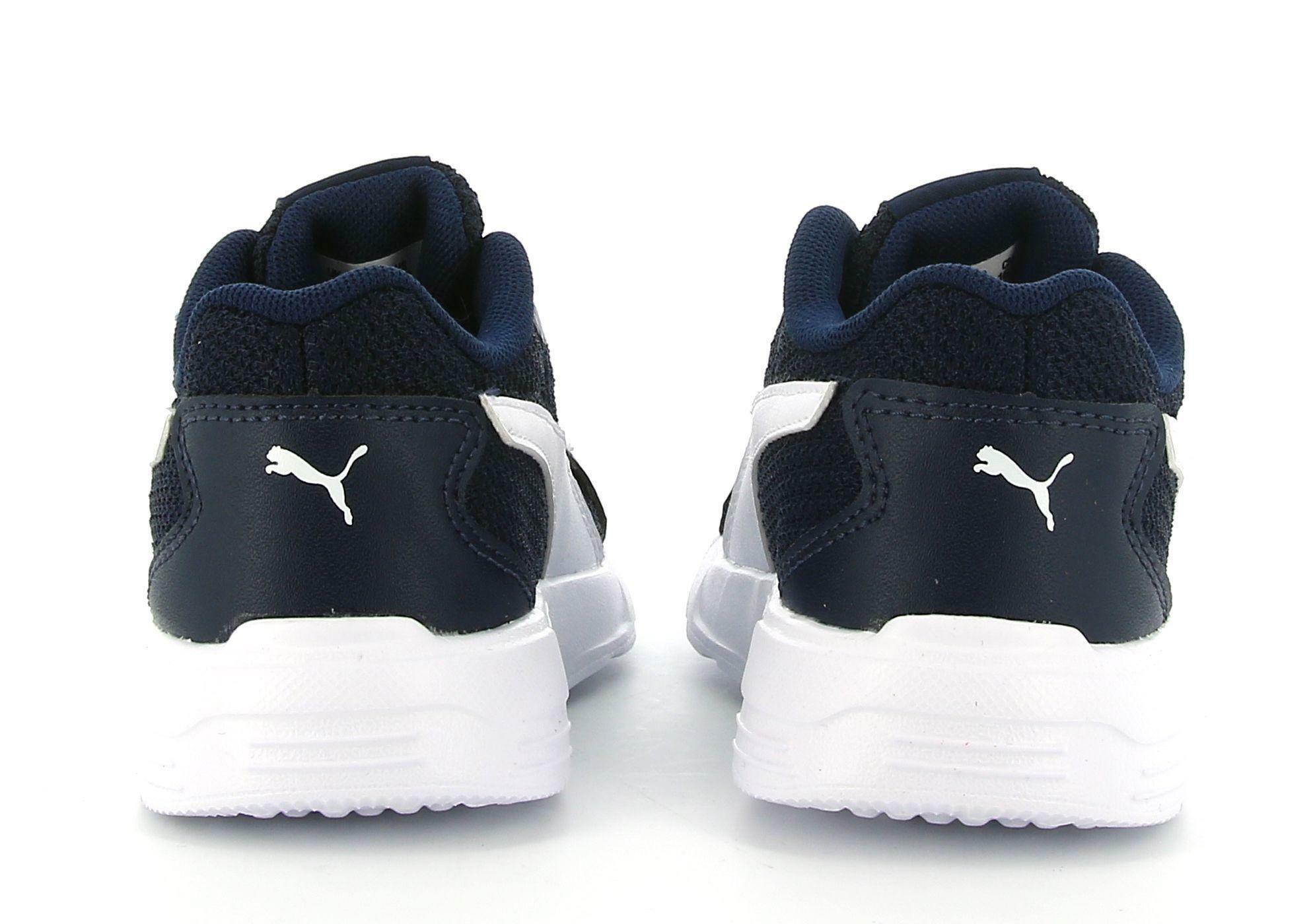 puma puma taper ac inf 374243 005 sneaker bassa bambino blu