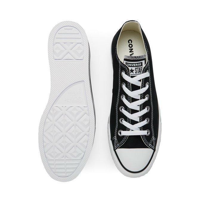 converse platform chuck taylor  layer ox 563970c scarpa donna nero