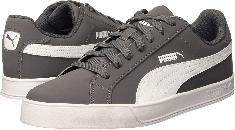 puma puma smash vulc uomo 359622 013 grigio sneakers bassa