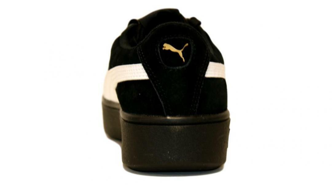 puma vikky stacked sd donna sneaker sportiva 369144 003 nero