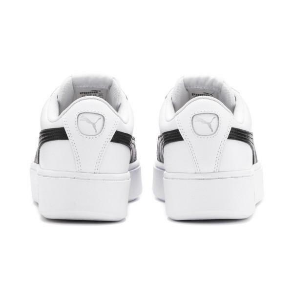 puma puma vikky stacked l donna sneaker sportiva 369143 007 bianco nero