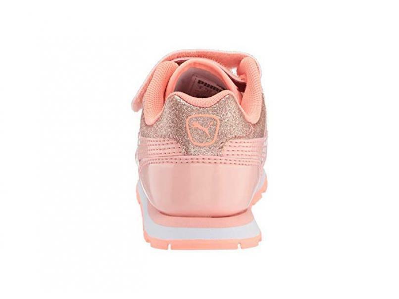 puma vista glitz v ps bambina strappo sportivo 369720 005 rosa