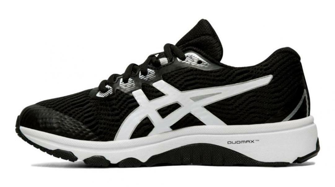 asics gt 1000 8 gs donna scarpe running 1014a068 nera
